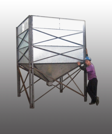 sheet metal-chicken feeder